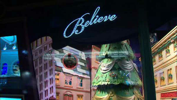 Macy&#39;s unveiled its holiday windows on Thursday, November 15.  The displays are inspired by the story of the little girl behind the famous newspaper column &#34;Yes Virginia, there is a Santa Clause&#34;. <span class=meta>(WABC Photo)</span>