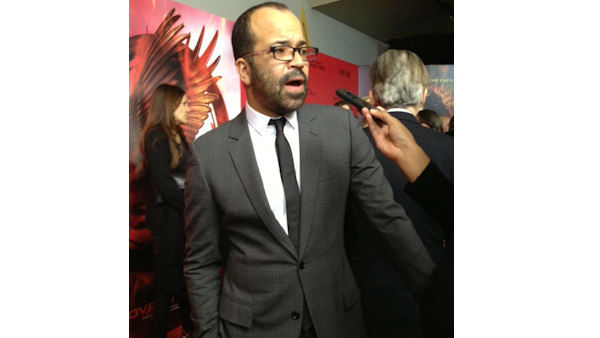 "Actor Jeffrey Wright seen at The New York City Premiere of ""The Hunger Games: Catching Fire"" on Wednesday, Nov. 20, 2013, in New York City"