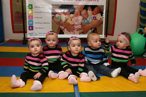 A set of quintuplets on Staten Island are celebrating their 5th birthday.