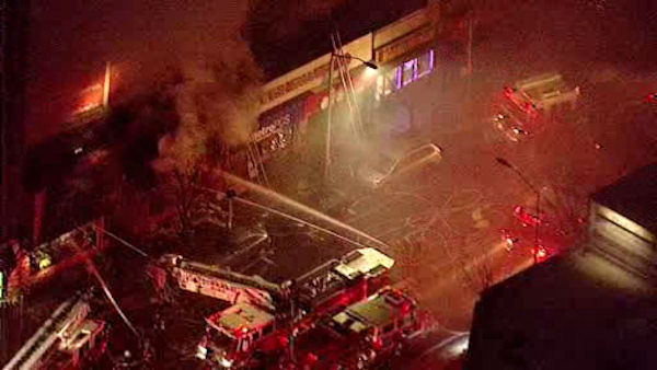 "<div class=""meta ""><span class=""caption-text "">A large fire broke out inside the Yonkers Dollar K store on Thursday afternoon. (WABC Photo/ WABC)</span></div>"