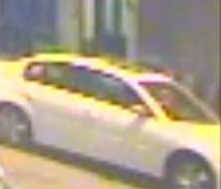Images of the suspects and vehicle police are searching for in a city-wide robbery pattern