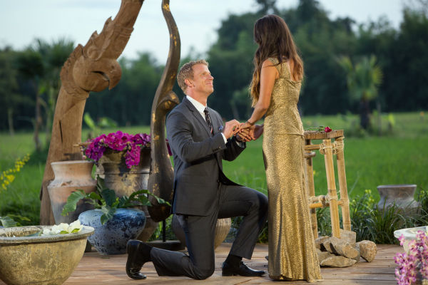 "<div class=""meta image-caption""><div class=""origin-logo origin-image ""><span></span></div><span class=""caption-text"">THE BACHELOR: SEAN AND CATHERINE'S WEDDING - Sean Lowe and Catherine Giudici, the latest to join other ""Bachelor"" couples who have walked down the aisle, will share a dramatic new chapter of their love story with millions of viewers and Bachelor Nation when ABC televises their much anticipated wedding - live, on ""The Bachelor: Sean and Catherine's Wedding,"" SUNDAY, JANUARY 26, 2014 (8:00-10:00 p.m., ET), on the ABC Television Network. This will mark the first time ever a ""Bachelor"" wedding has been telecast live. (ABC/Dave Hagerman) SEAN LOWE, CATHERINE GIUDICI (ABC Photo/ Dave Hagerman)</span></div>"