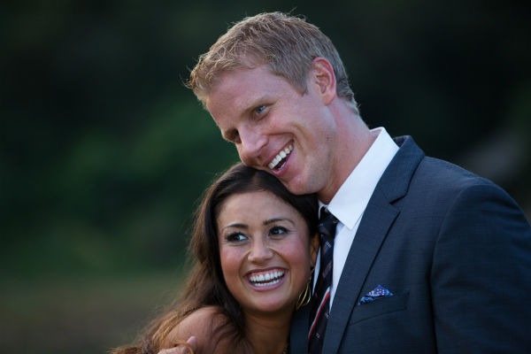 "<div class=""meta image-caption""><div class=""origin-logo origin-image ""><span></span></div><span class=""caption-text"">THE BACHELOR: SEAN AND CATHERINE'S WEDDING - Sean Lowe and Catherine Giudici, the latest to join other ""Bachelor"" couples who have walked down the aisle, will share a dramatic new chapter of their love story with millions of viewers and Bachelor Nation when ABC televises their much anticipated wedding - live, on ""The Bachelor: Sean and Catherine's Wedding,"" SUNDAY, JANUARY 26, 2014 (8:00-10:00 p.m., ET), on the ABC Television Network. This will mark the first time ever a ""Bachelor"" wedding has been telecast live. (ABC/Dave Hagerman) CATHERINE GIUDICI, SEAN LOWE (ABC Photo/ Dave Hagerman)</span></div>"