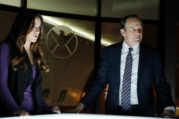 MARVEL&#39;S AGENTS OF S.H.I.E.L.D. - &#34;Pilot&#34; - Joss Whedon, the creative genius behind the feature film &#34;Marvel&#39;s The Avengers,&#34; one of the highest grossing films of all time, and of the iconic television series &#34;Buffy The Vampire Slayer,&#34; has co-created &#34;Marvel&#39;s Agents of S.H.I.E.L.D.,&#34; a dynamic, action-packed one-hour drama that brings back Agent Phil Coulson &#40;Clark Gregg&#41; to lead a team of highly skilled agents to investigate extra-normal and super human people and events worldwide. The series premieres TUESDAY, SEPTEMBER 24 &#40;8:00-9:01 p.m., ET&#41;, on the ABC Television Network. In the premiere episode, &#34;Pilot,&#34; it&#39;s just after the battle of New York, and now that the existence of super heroes and aliens has become public knowledge, the world is trying to come to grips with this new reality. Agent Phil Coulson is back in action and has his eye on a mysterious group called The Rising Tide. In order to track this unseen, unknown enemy, he has assembled a small, highly select group of Agents from the worldwide law-enforcement organization known as S.H.I.E.L.D. &#40;Strategic Homeland Intervention Enforcement and Logistics Division&#41;. The group&#39;s first assignment together as a team finds them trying to track down an ordinary man who has gained extraordinary powers. Powers that could have devastating consequences. &#40;ABC&#47;Justin Lubin&#41; CHLOE BENNET, CLARK GREGG <span class=meta>(ABC Photo&#47; Justin Lubin)</span>