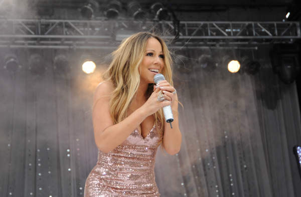 GOOD MORNING AMERICA - Mariah Carey performs at the GMA Summer Concert Series, from Central Park in New York City, on GOOD MORNING AMERICA, 5&#47;24&#47;13, airing on the ABC Television Network.   &#40;ABC&#47;Donna Svennevik&#41;  MARIAH CAREY <span class=meta>(Photo&#47;Donna Svennevik)</span>