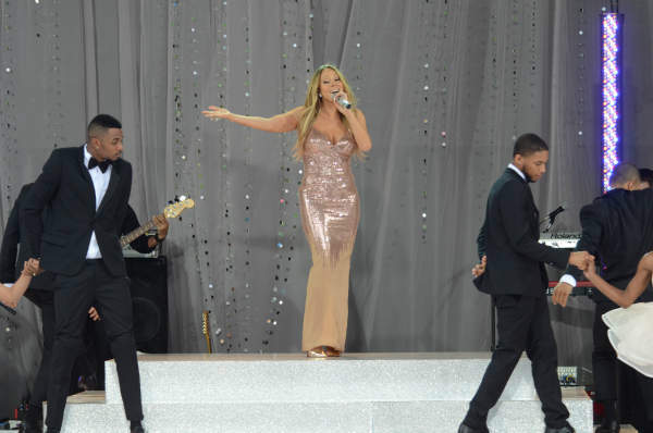 GOOD MORNING AMERICA - Mariah Carey performs at the GMA Summer Concert Series, from Central Park in New York City, on GOOD MORNING AMERICA, 5&#47;24&#47;13, airing on the ABC Television Network.   &#40;ABC&#47;Ida Mae Astute&#41;  MARIAH CAREY <span class=meta>(Photo&#47;Ida Mae Astute)</span>