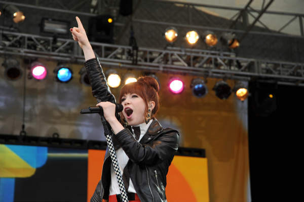 "<div class=""meta image-caption""><div class=""origin-logo origin-image ""><span></span></div><span class=""caption-text"">GOOD MORNING AMERICA - Carly Rae Jepsen performs live from Central Park on ""Good Morning America,"" 6/14/13, airing on the ABC Television Network on the ABC Television Network.   (ABC/Donna Svennevik) CARLY RAE JEPSEN (ABC Photo/ Donna Svennevik)</span></div>"
