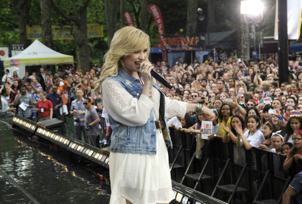 "<div class=""meta ""><span class=""caption-text "">GOOD MORNING AMERICA - Demi Lovato performs live from Central Park on ""Good Morning America,"" 6/28/13, airing on the ABC Television Network.   (ABC/Donna Svennevik) DEMI LOVATO (ABC Photo/ Donna Svennevik)</span></div>"