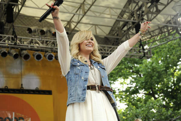 GOOD MORNING AMERICA - Demi Lovato performs live from Central Park on &#34;Good Morning America,&#34; 6&#47;28&#47;13, airing on the ABC Television Network.   &#40;ABC&#47;Donna Svennevik&#41; DEMI LOVATO <span class=meta>(ABC Photo&#47; Donna Svennevik)</span>