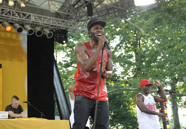 GOOD MORNING AMERICA - Jason Derulo performs live from Central Park on &#34;Good Morning America,&#34; 7&#47;19&#47;13, airing on the ABC Television Network.   &#40;ABC&#47;Donna Svennevik&#41; JASON DERULO <span class=meta>(ABC Photo&#47; Donna Svennevik)</span>