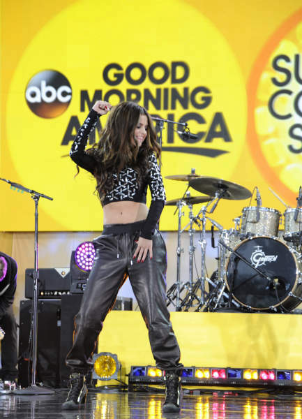 GOOD MORNING AMERICA - Selena Gomez celebrates her 21st birthday with a concert in Central Park as part of the GMA Summer Concert Series, on GOOD MORNING AMERICA, 7&#47;26&#47;13, airing on the ABC Television Network.   &#40;ABC&#47;Donna Svennevik&#41;  SELENA GOMEZ <span class=meta>(ABC Photo&#47; Donna Svennevik)</span>