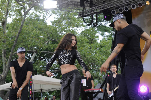 GOOD MORNING AMERICA - Selena Gomez celebrates her 21st birthday with a concert in Central Park as part of the GMA Summer Concert Series, on GOOD MORNING AMERICA, 7&#47;26&#47;13, airing on the ABC Television Network.   &#40;ABC&#47;Donna Svennevik&#41;  SELENA GOMEZ <span class=meta>(Photo&#47;Donna Svennevik)</span>