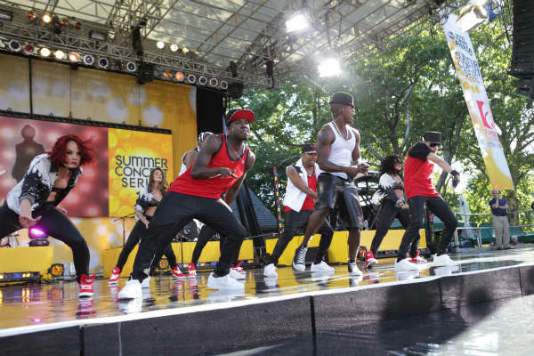 GOOD MORNING AMERICA - Ne-Yo performs live in Central Park as part of the GMA Summer Concert Series, on &#34;Good Morning America,&#34; 8&#47;2&#47;13, airing on the ABC Television Network.   &#40;ABC&#47;Fred Lee&#41;  NE-YO <span class=meta>(Photo&#47;Fred Lee)</span>