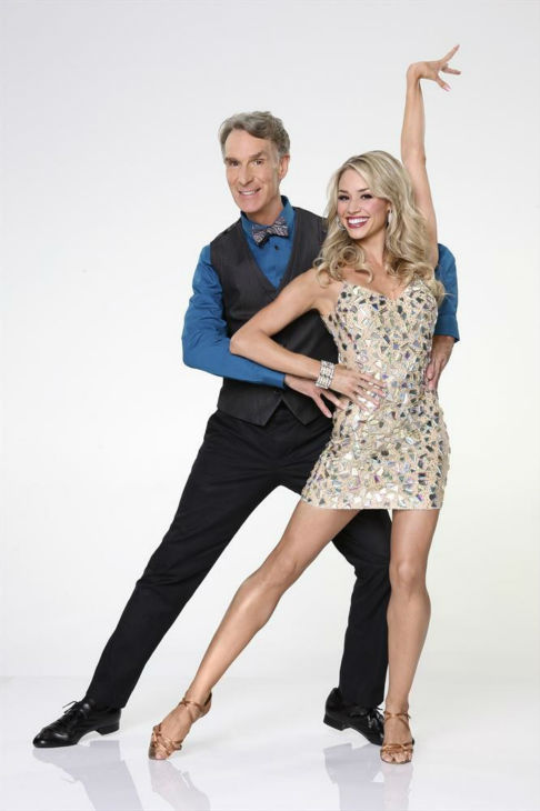 DANCING WITH THE STARS - BILL NYE &amp; TYNE STECKLEIN - Bill Nye joins first time professional partner Tyne Stecklein. &#34;Dancing with the Stars&#34; returns for Season 17 on MONDAY, SEPTEMBER 16 &#40;8:00-10:01 p.m., ET&#41;, on the ABC Television Network. &#40;ABC&#47;Craig Sjodin&#41;  <span class=meta>(ABC Photo&#47; Craig Sjodin)</span>