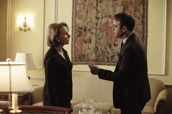 SCANDAL - &#34;Ride, Sally, Ride&#34; - The White House deals with a bombshell announcement from Sally Langston. Meanwhile, Olivia finds herself in a challenging new role, on ABC&#39;s &#34;Scandal,&#34; THURSDAY, FEBRUARY 27 &#40;10:00-11:00 p.m., ET&#41; on the ABC Television Network. &#40;ABC&#47;Nicole Wilder&#41; KATE BURTON, PAUL ADELSTEIN <span class=meta>(ABC Photo&#47; Nicole Wilder)</span>