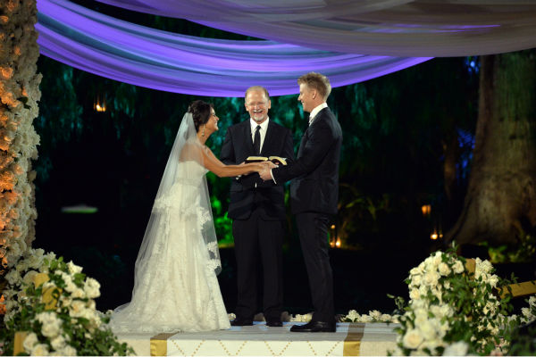 "<div class=""meta image-caption""><div class=""origin-logo origin-image ""><span></span></div><span class=""caption-text"">THE BACHELOR: SEAN AND CATHERINE'S WEDDING - Sean Lowe and Catherine Giudici, the latest to join other ""Bachelor"" couples who have walked down the aisle, shared a dramatic new chapter of their love story with millions of viewers and Bachelor Nation when ABC televised their much anticipated wedding ? live, on ""The Bachelor: Sean and Catherine's Wedding,"" SUNDAY, JANUARY 26, 2014 (8:00-10:00 p.m., ET), on the ABC Television Network. (ABC/Todd Wawrychuk) CATHERINE GIUDICI, JAY LOWE, SEAN LOWE (Photo/Todd Wawrychuk)</span></div>"