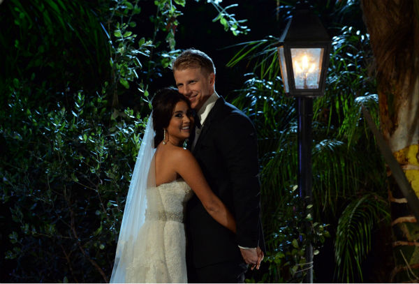 THE BACHELOR: SEAN AND CATHERINE&#39;S WEDDING - Sean Lowe and Catherine Giudici, the latest to join other &#34;Bachelor&#34; couples who have walked down the aisle, shared a dramatic new chapter of their love story with millions of viewers and Bachelor Nation when ABC televised their much anticipated wedding ? live, on &#34;The Bachelor: Sean and Catherine&#39;s Wedding,&#34; SUNDAY, JANUARY 26, 2014 &#40;8:00-10:00 p.m., ET&#41;, on the ABC Television Network. &#40;ABC&#47;Todd Wawrychuk&#41; CATHERINE LOWE, SEAN LOWE <span class=meta>(Photo&#47;Todd Wawrychuk)</span>