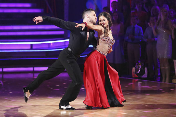 "<div class=""meta image-caption""><div class=""origin-logo origin-image ""><span></span></div><span class=""caption-text"">DANCING WITH THE STARS - ""Episode 1801"" - Each couple performed a Cha Cha, Foxtrot or Contemporary routine, vying for America's vote. The two-hour season premiere of ""Dancing with the Stars"" began MONDAY, MARCH 17 (8:00-10:01 p.m., ET) on the ABC Television Network. (ABC/Adam Taylor) VALENTIN CHMERKOVSKIY, DANICA MCKELLAR (ABC Photo/ Adam Taylor)</span></div>"