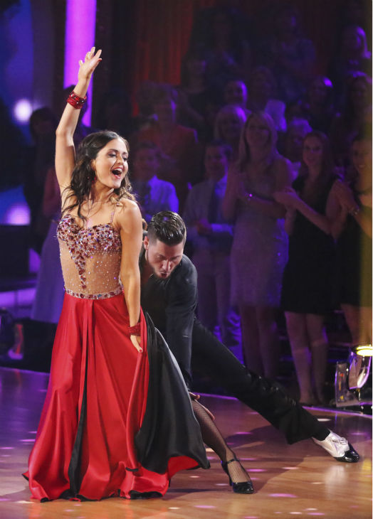 DANCING WITH THE STARS - &#34;Episode 1801&#34; - Each couple performed a Cha Cha, Foxtrot or Contemporary routine, vying for America&#39;s vote. The two-hour season premiere of &#34;Dancing with the Stars&#34; began MONDAY, MARCH 17 &#40;8:00-10:01 p.m., ET&#41; on the ABC Television Network. &#40;ABC&#47;Adam Taylor&#41; DANICA MCKELLAR, VALENTIN CHMERKOVSKIY <span class=meta>(Photo&#47;Adam Taylor)</span>