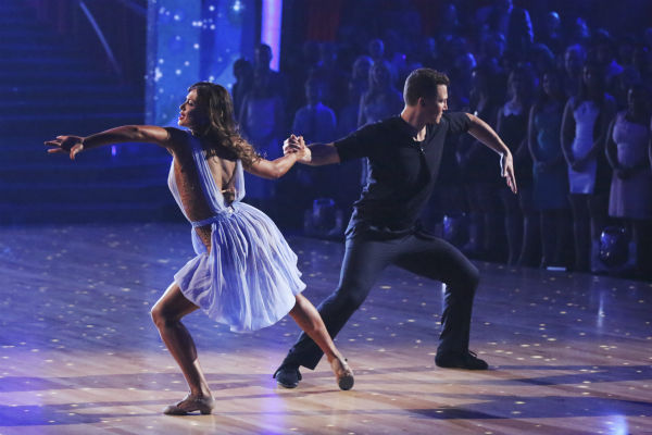"<div class=""meta ""><span class=""caption-text "">DANCING WITH THE STARS - ""Episode 1801"" - Each couple performed a Cha Cha, Foxtrot or Contemporary routine, vying for America's vote. The two-hour season premiere of ""Dancing with the Stars"" began MONDAY, MARCH 17 (8:00-10:01 p.m., ET) on the ABC Television Network. (ABC/Adam Taylor) KARINA SMIRNOFF, SEAN AVERY (ABC Photo/ Adam Taylor)</span></div>"