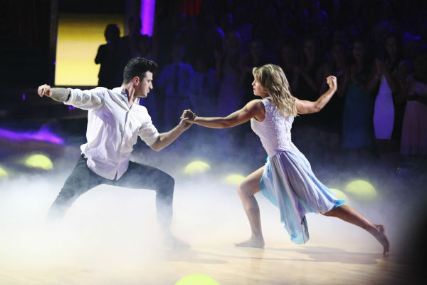 "<div class=""meta image-caption""><div class=""origin-logo origin-image ""><span></span></div><span class=""caption-text"">DANCING WITH THE STARS - ""Episode 1801"" - Each couple performed a Cha Cha, Foxtrot or Contemporary routine, vying for America's vote. The two-hour season premiere of ""Dancing with the Stars"" began MONDAY, MARCH 17 (8:00-10:01 p.m., ET) on the ABC Television Network. (ABC/Adam Taylor) MARK BALLAS, CANDACE CAMERON BURE (ABC Photo/ Adam Taylor)</span></div>"