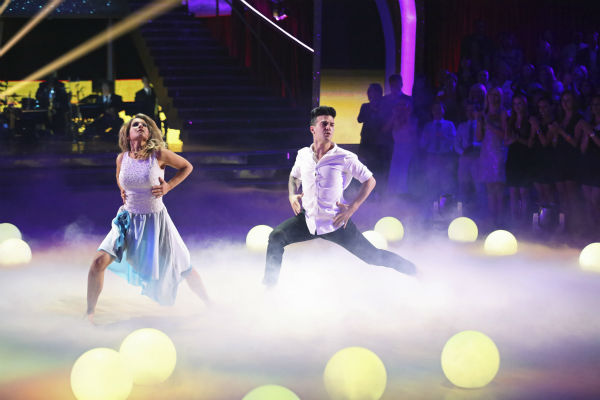 DANCING WITH THE STARS - &#34;Episode 1801&#34; - Each couple performed a Cha Cha, Foxtrot or Contemporary routine, vying for America&#39;s vote. The two-hour season premiere of &#34;Dancing with the Stars&#34; began MONDAY, MARCH 17 &#40;8:00-10:01 p.m., ET&#41; on the ABC Television Network. &#40;ABC&#47;Adam Taylor&#41; CANDACE CAMERON BURE, MARK BALLAS <span class=meta>(Photo&#47;Adam Taylor)</span>