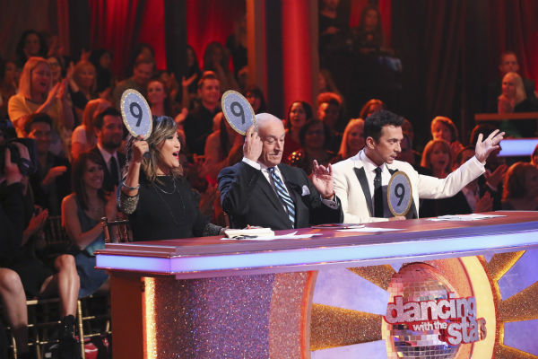 "<div class=""meta ""><span class=""caption-text "">DANCING WITH THE STARS - ""Episode 1801"" - Each couple performed a Cha Cha, Foxtrot or Contemporary routine, vying for America's vote. The two-hour season premiere of ""Dancing with the Stars"" began MONDAY, MARCH 17 (8:00-10:01 p.m., ET) on the ABC Television Network. (ABC/Adam Taylor) CARRIE ANN INABA, LEN GOODMAN, BRUNO TONIOLI (Photo/Adam Taylor)</span></div>"