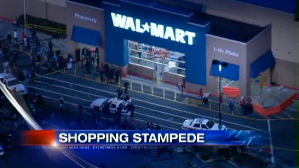 VIDEO: Man killed in Black Friday stampede
