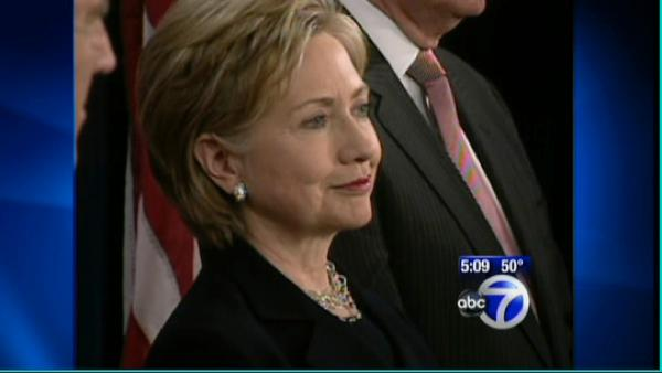 VIDEO: Hillary gets Sec. of State nod