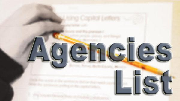 Links to agencies that can help