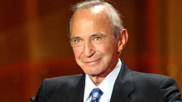 U.S. actor Ben Gazzara greets the people after he was given the Donostia prize for lifetime achievement in the San Sebastian film festival in San Sebastian, Spain, Thursday Sept. 22, 2005.