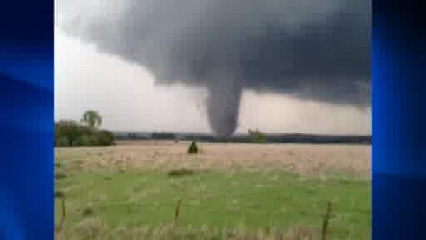 Five people are dead after over 100 tornadoes in the Midwest