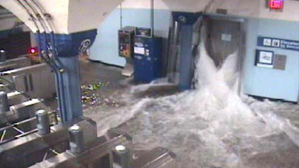 NYC sees extensive damage from Sandy