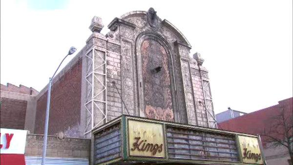 A once-majestic movie theater is undergoing a transformation.