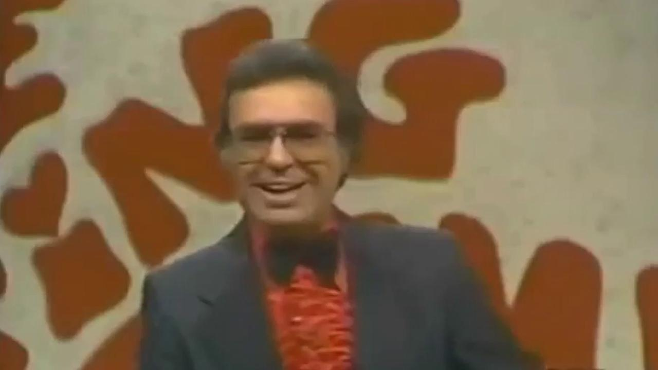 Jim Lange, the first host of the popular game show The Dating Game, is seen in an undated file photo. Lange died Tuesday, Feb. 25, 2014, at the age of 81.