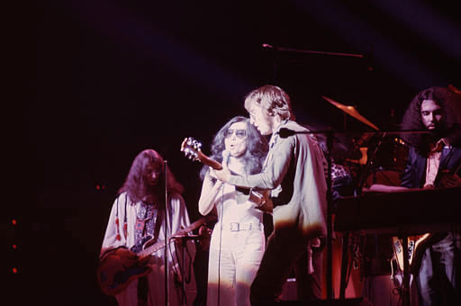"<div class=""meta ""><span class=""caption-text "">John Lennon and Yoko Ono perform on stage in an undated file photo.  (AP Photo) (AP Photo/ XMB)</span></div>"