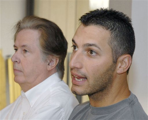 Pitcher Andy Pettitte, right, addresses the media with  his agent Randy Hendricks at his side during a news conference Saturday, Dec. 9, 2006 in Deer Park, Texas. Pettitte and the New York Yankees reached an agreement on a &#36;16 million, one-year contract, a deal that reunites the two-time All-Star with the team he helped to win four World Series titles  &#40;AP Photo&#47;Tim Johnson&#41; <span class=meta>(AP Photo&#47; TIM JOHNSON)</span>