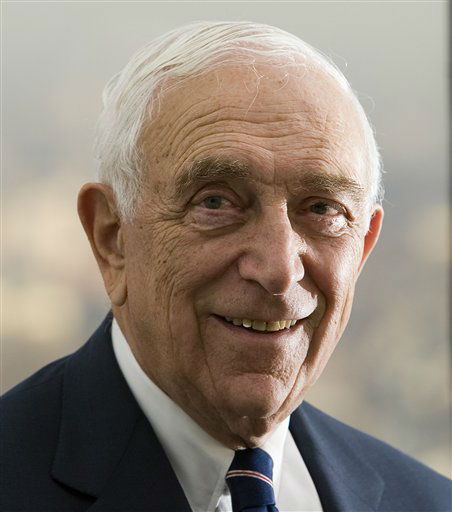 **ADVANCE FOR MONDAY, JAN. 1, ** Sen. Frank Lautenberg is shown in his office in Newark, N.J. on Dec. 14, 2006. With his 83rd birthday approaching later this month, Lautenberg is currently the third-oldest U.S. senator in office. He says his health is excellent and frequent trips to the gym, plus skiing as often as he can, have the senator looking and feeling younger than his age. &#40;AP Photo&#47;Tim Larsen&#41; <span class=meta>(AP Photo&#47; Tim Larsen)</span>