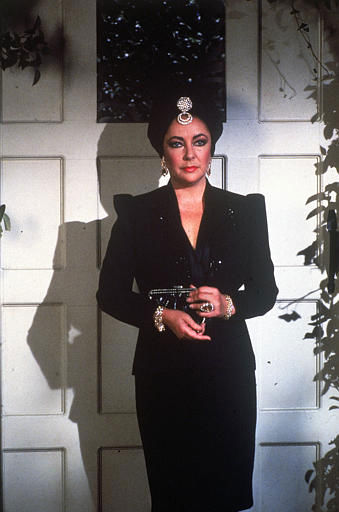Elizabeth Taylor makes a special appearance on the television soap opera &#34;General Hospital&#34;, Nov. 1981, as Helena Cassadine.  &#40;AP Photo&#41; <span class=meta>(AP Photo&#47; Anonymous)</span>
