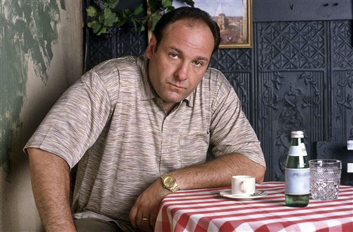 "<div class=""meta image-caption""><div class=""origin-logo origin-image ""><span></span></div><span class=""caption-text"">FILE - This 1999 file photo provided by HBO, shows James Gandolfini as mob boss Tony Soprano, in an episode from the first season of the HBO cable television mob series, ""The Sopranos."" HBO and the managers for Gandolfini say the actor died Wednesday, June 19, 2013, in Italy. He was 51. (AP Photo/HBO, Anthony Neste, File) (AP Photo/ Anthony Neste)</span></div>"
