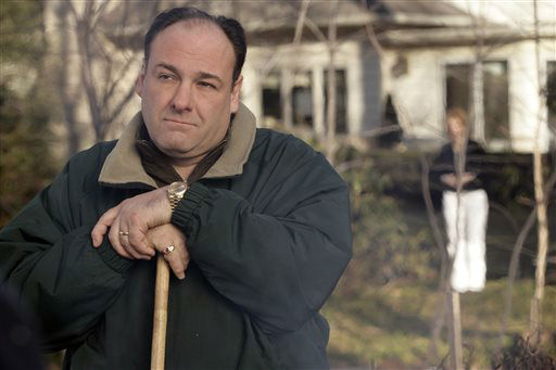 "<div class=""meta ""><span class=""caption-text "">FILE - This file photo released by HBO in 2007 shows James Gandolfini as Tony Soprano in a scene from one of the last episodes of the HBO dramatic series ""The Sopranos."" HBO and the managers for Gandolfini say the actor died Wednesday, June 19, 2013, in Italy. He was 51.  (AP Photo/HBO, Craig Blankenhorn, File) (AP Photo/ Craig Blankenhorn)</span></div>"