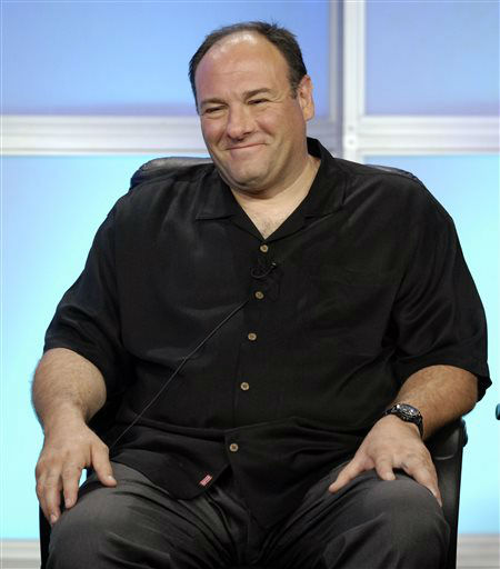FILE - In this July 12, 2007 file photo, James Gandolfini, executive producer and interviewer for HBO&#39;s Iraq War documentary &#34;Alive Day Memories,&#34; smiles during the Television Critics Association summer press tour in Beverly Hills, Calif. HBO and the managers for Gandolfini say the actor died Wednesday, June 19, 2013, in Italy. He was 51. &#40;AP Photo&#47;Chris Pizzello, File&#41; <span class=meta>(AP Photo&#47; Chris Pizzello)</span>