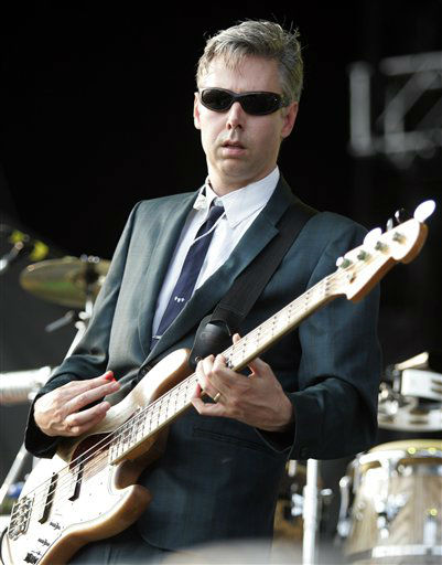 Adam Yauch of the &#34;Beastie Boys&#34; performs at the Virgin Festival in Baltimore, Saturday, Aug. 4, 2007.  &#40;AP Photo&#47;Jeff Christensen&#41; <span class=meta>(AP Photo&#47; Jeff Christensen)</span>