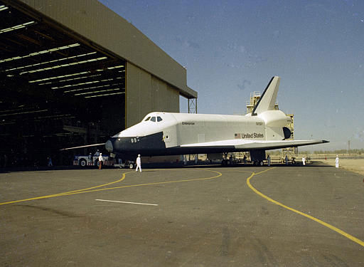 The space shuttle Enterprise is seen in 1976.  &#40;AP Photo&#41; <span class=meta>(AP Photo&#47; XMB)</span>
