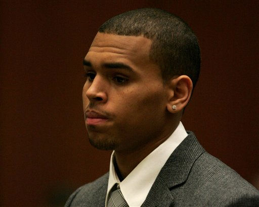"<div class=""meta ""><span class=""caption-text "">Chris Brown is seen during his arraignment on charges of assault on Thursday March 5, 2009, at the Los Angeles County Criminal Courts in downtown Los Angeles. (AP Photo/ Bob Chamberlin,Pool) (AP Photo/ Bob Chamberlin)</span></div>"