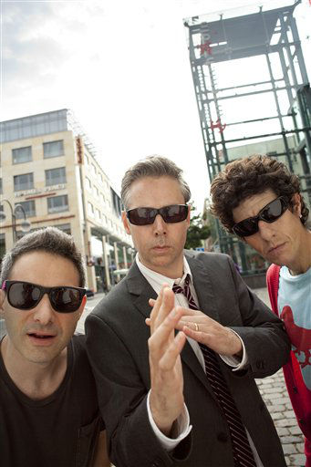"<div class=""meta ""><span class=""caption-text "">In this undated publicity image released by Nasty Little Man, the group Beastie Boys, from left, Adam ""Ad-Rock"" Horovitz, Adam ""MCA"" Yauch, and Michael ""Mike D"" Diamond are shown. (AP Photo/Nasty Little Man, Thomas Rabsch) (AP Photo/ Thomas Rabsch)</span></div>"