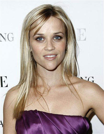 Reese Witherspoon arrives at the Vogue Magazine dinner celebrating the launch of the Vera Wang store on Melrose in West Hollywood, Calif. on Tuesday, March 2, 2010. &#40;AP Photo&#47;Matt Sayles&#41; <span class=meta>(AP Photo&#47; Matt Sayles)</span>