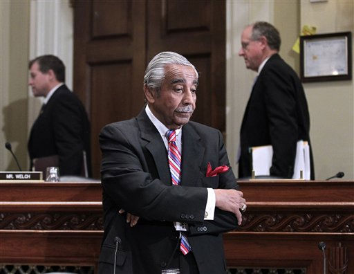 Rep. Charlie Rangel, D-N.Y. is seen on Capitol Hill in Washington, Monday, Nov. 15, 2010, before the start of the House Committee on Standards of Official Conduct hearing, where as he faces 13 separate counts of violating House ethics rules. &#40;AP Photo&#47;J. Scott Applewhite&#41; <span class=meta>(AP Photo&#47; J. Scott Applewhite)</span>