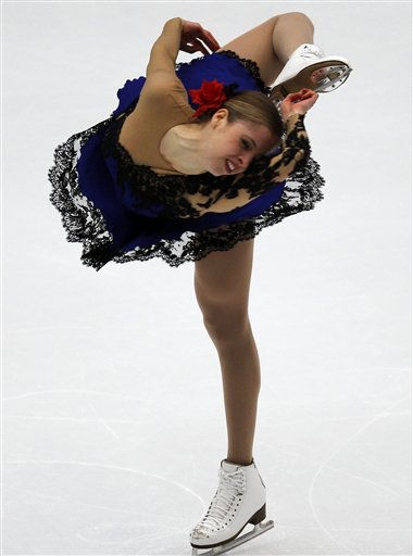 Italy&#39;s Carolina Kostner performs at the women&#39;s short program at the ISU Grand Prix of Figure Skating final  in Beijing, China, Friday, Dec. 10, 2010. &#40;AP Photo&#47;Ng Han Guan&#41; <span class=meta>(AP Photo&#47; Ng Han Guan)</span>