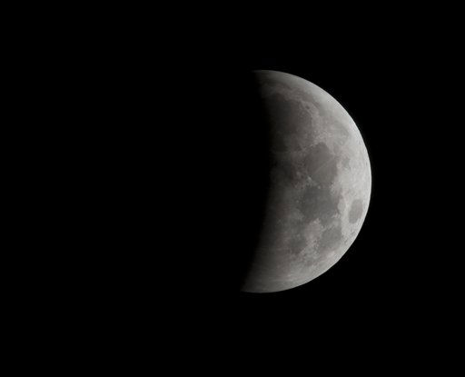 "<div class=""meta ""><span class=""caption-text "">The moon is shown at 2:04am EST during an eclipse seen near Gainesville Fla., Tuesday, Dec. 21, 2010,  (AP Photo/Phil Sandlin) (AP Photo/ Phil Sandlin)</span></div>"
